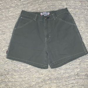 Tommy Hillfiger Shorts Green Size 6 Women's